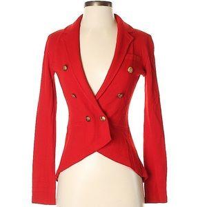 GIANNI BINI Sailor Steampunk Wool Blend Jacket